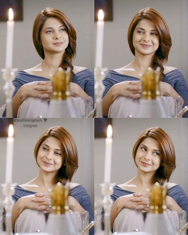 YEAH ACTUALLY !! Did u see her beauty ?  . . . ✨ #jenniferwinget  #saraswatichandra #saanjh #arjun #beyhadh #sonytv #kumud #samud #tellywood #bollywood #jenam #tollywood #starplus #colorst ✨