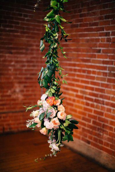 A pretty floral garland.