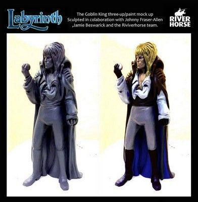 With the Jareth sculpture, all the sculpts for the Labyrinth Board Game have been approved and the game's cast is completed. More on FangirlNation.