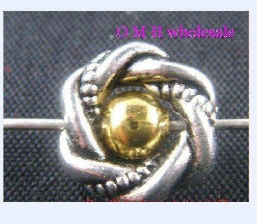 Omh оптовая продажа бесплатная доставка 12 шт. тибетские серебряные кольца спейсерной бусины ювелирные изделия металл бусины 12.5 мм ZL179 купить на AliExpress