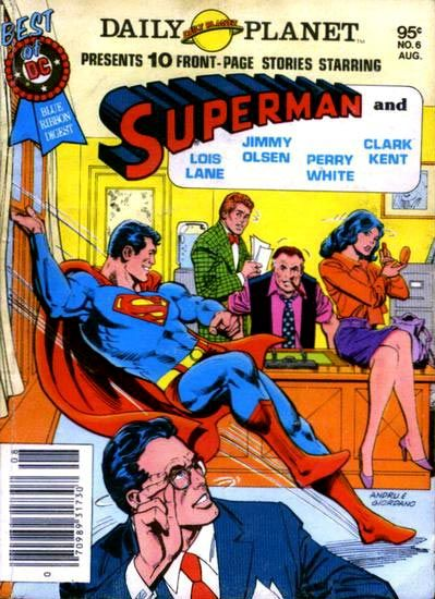 Planet Daily Planet! Superman stories spotlighting Clark Kent and his co-workers!