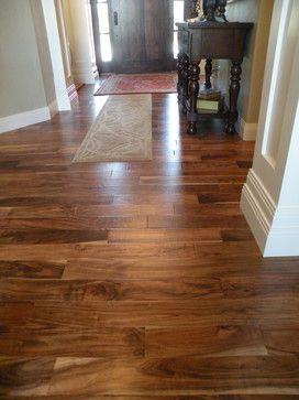 Asian Walnut/Acacia hardwood floors. Hardness rating of ...