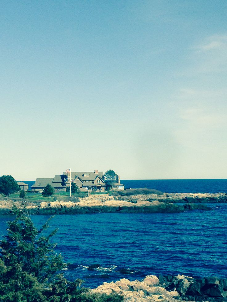 Walker Point In Kennebunkport Maine Bush S Estate