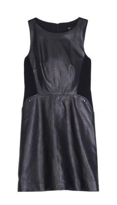 Leather Dress - Cocktail Essentials - Features   Shop   Tibi