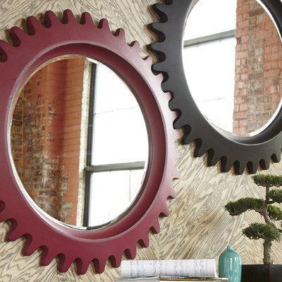A.R.T. Epicenters Williamsburg Wall Mirror Finish: