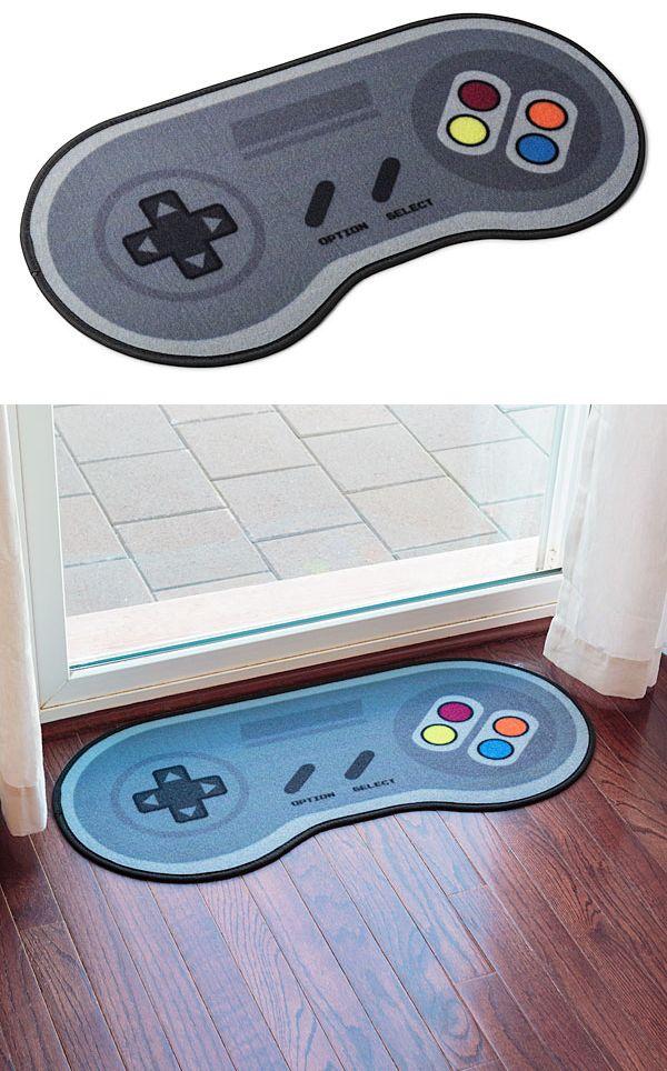 Video game controller floor mat