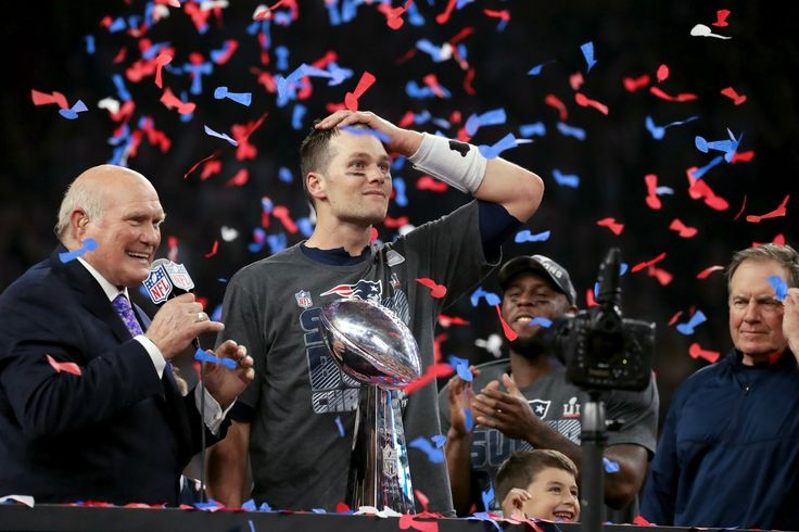 ♡♥Tom Brady rallied the Patriots from a 28-3 deficit in the second half to defeat the Atlanta Falcons in the first Super Bowl to go into overtime - click on pic to read the story and to see more full screen pics♥♡