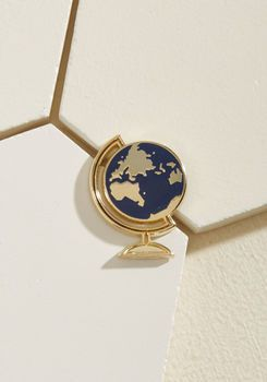 Exactly as Planet Enamel Pin