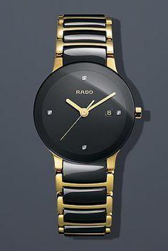 Rado Women's R30930712 Centric Jubile Two Tone Black Ceramic Bracelet Watch: http://watches.cybermarket24.com/rado-womens-r30930712-centric-jubile-two-tone-black-ceramic-bracelet-watch/