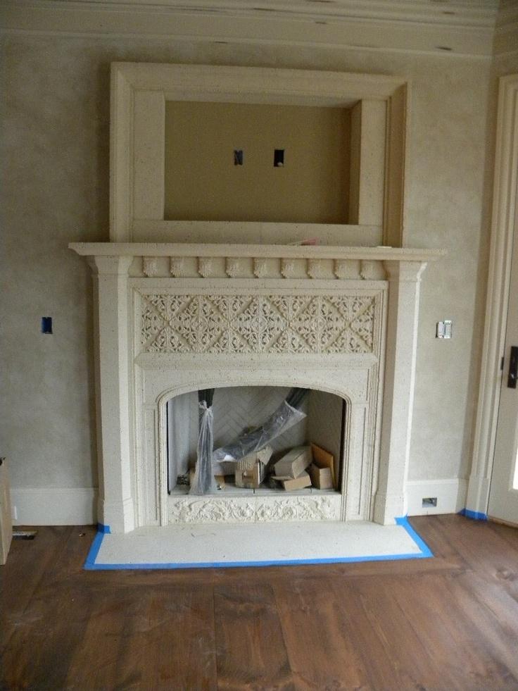 Fireplace Design cast stone fireplace surround : Mer enn 20 bra ideer om Cast stone fireplace på Pinterest