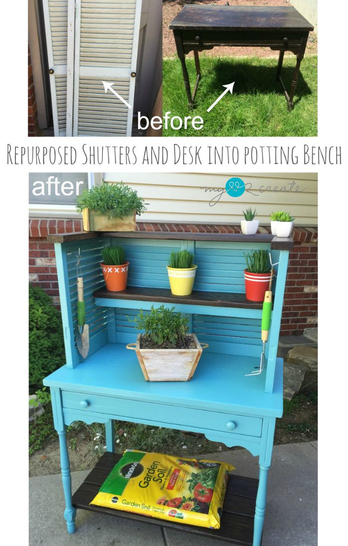 ... Easy Garden Furniture To Make