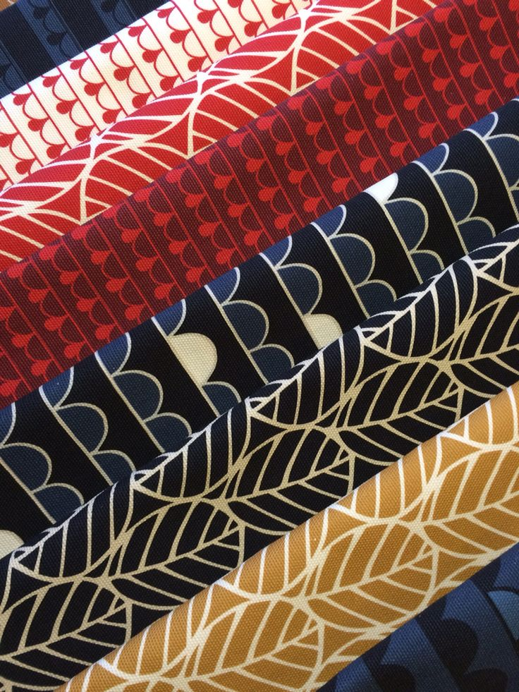 Some of my new fabrics / Rebers design