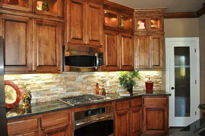 Kitchen Inspiration - backsplash, lighting, cabinet design