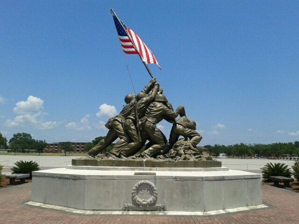 Military Base in Parris Island, SC