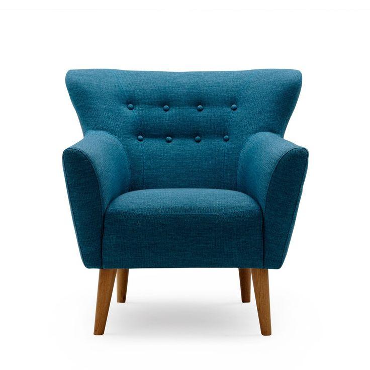 Teal Mod Chair