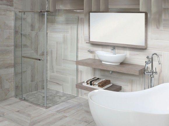 Semi frameless square shower enclosure 6011 ctm shower for Ctm bathroom designs