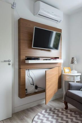 6 ideas para integrar la televisión en la decoración del salón · 6 ideas to decorate with your TV