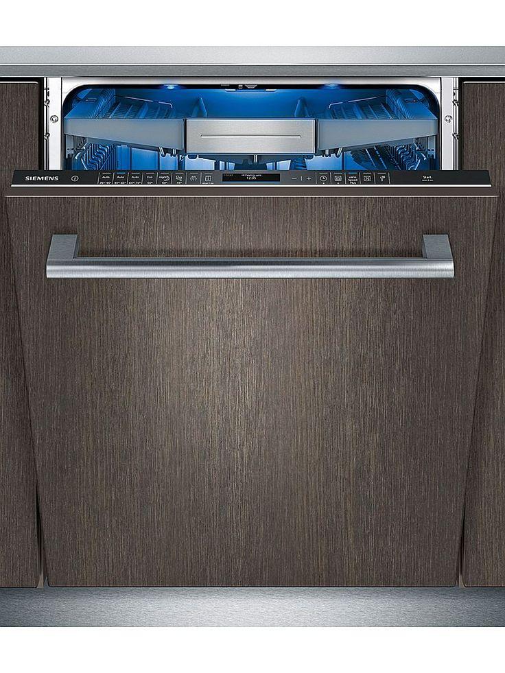 Siemens SN677X01TE är en helintegrerad diskmaskin med högupplöst TFT-display och varioSpeed Plus för upp till 66 % kortare disktid. Full flexibilitet tack vare toppkorgen varioDrawer Pro. I energiklass A+++ med högsta energieffektivitet tack vare Zeolith®-torkning.