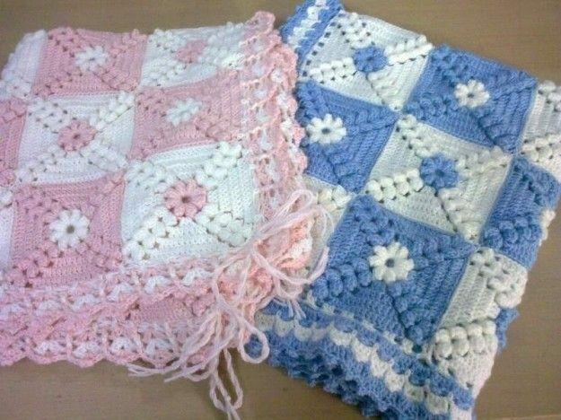Mantas de lana para bebés: Fotos de modelos