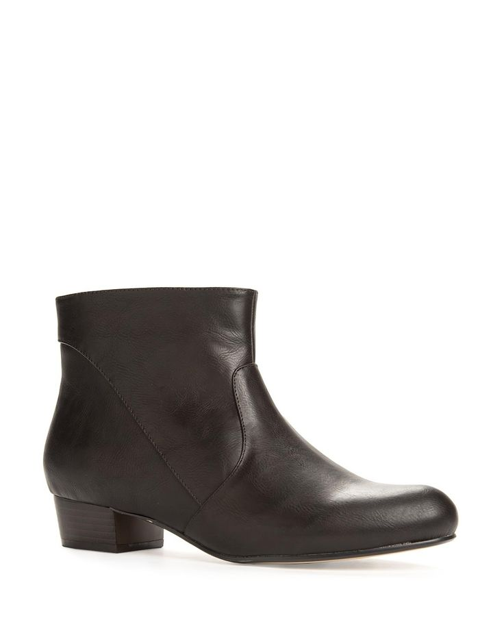 Classic Zip Ankle Boots