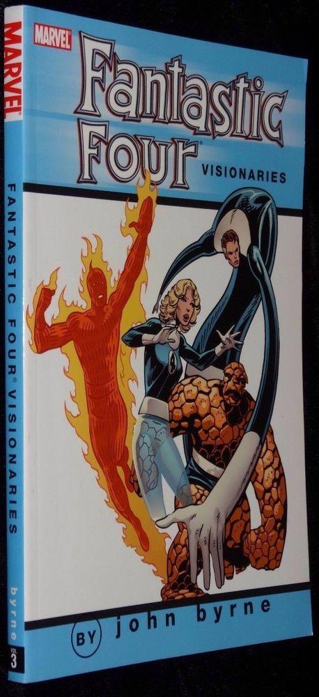 Fantastic Four Visionaries Vol 3 Marvel Comics Graphic Novel Softcover New Book