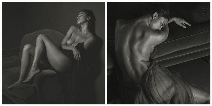 Η «ασπρόμαυρη» Ιρίνα Σάικ σε νέα γυμνή φωτογράφηση – Δείτε ΦΩΤΟ