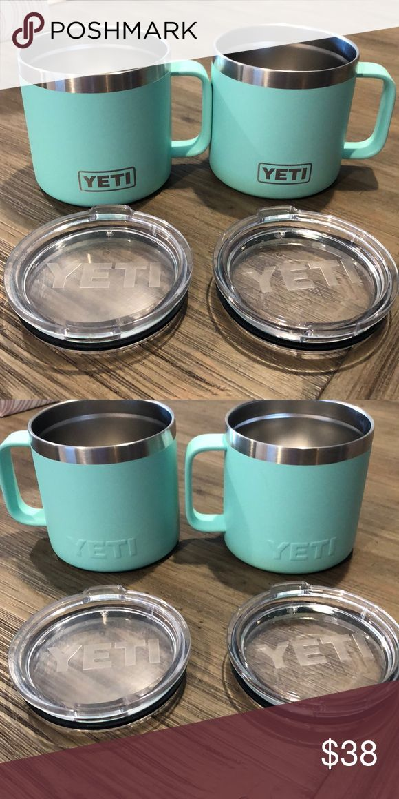 Yeti Rambler 14 oz mugs (sold as set) in 2020 Mugs