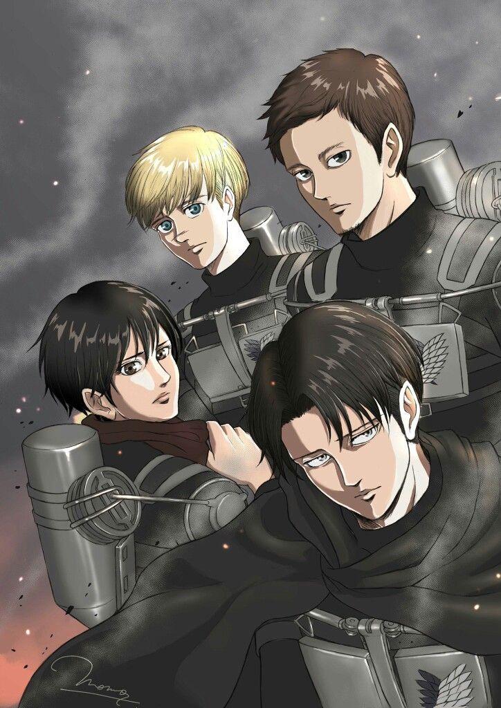 326f17671 Levi squad | attack on titan | | Ereri | Attack on titan comic ...