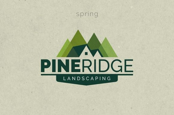 Landscaping Logo Template by g design on @creativemarket