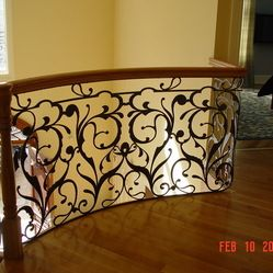 Railings By ARTTIG Forged Wrought Iron
