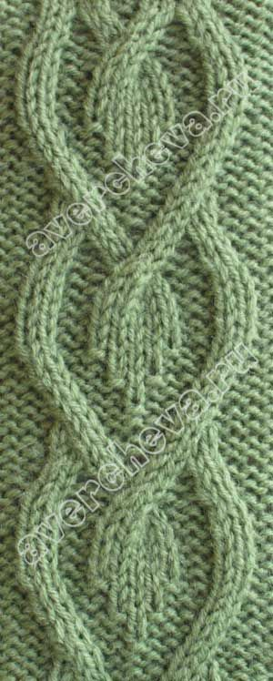 cable Stitch Pattern- avercheva
