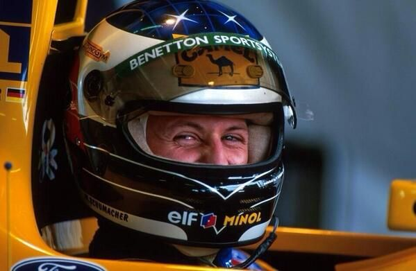 """Smaile"" Michael Schumacher, Benetton-Ford, 1993 #KeepFightingMichael"