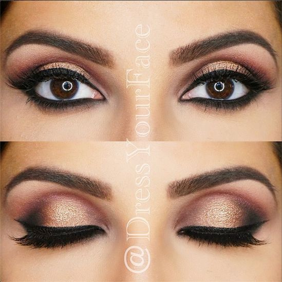 ✨GILDED SANGRIA SMOKEY EYE✨ using the @anastasiabeverlyhills #TamannaPalette ❤️ Step-by-step with details coming up next! (Model: @zohrasadat)