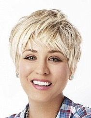 Short hair #blonde