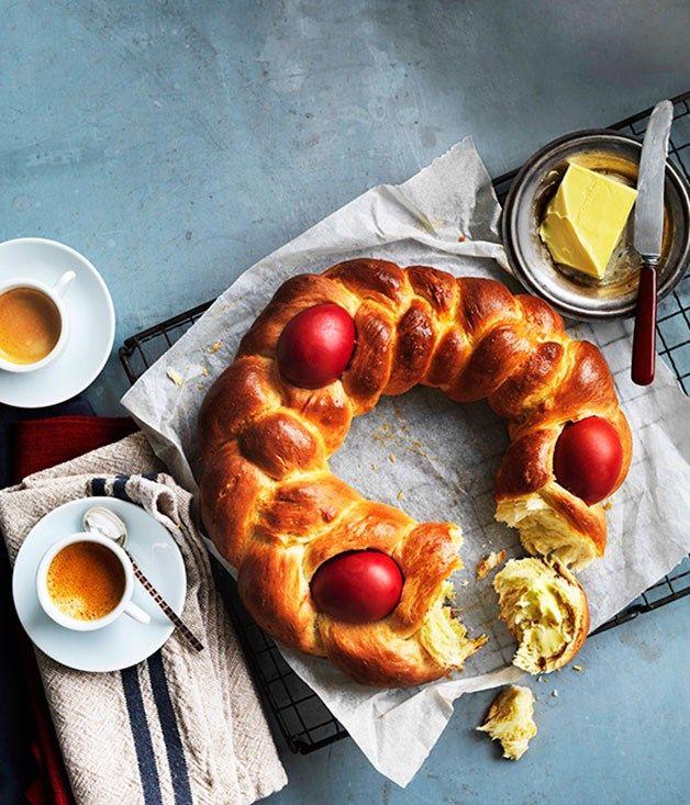 Greek Easter bread Tsoureki :: Gourmet Traveller