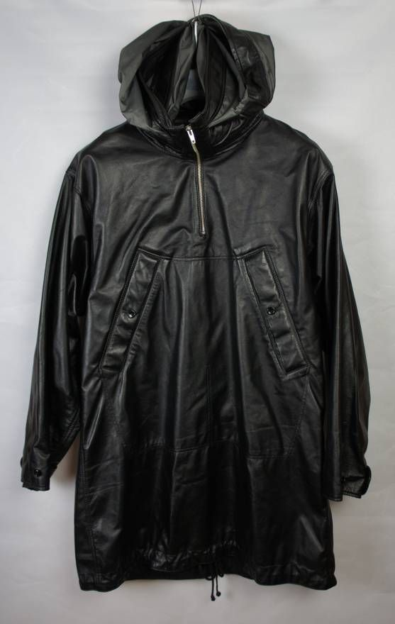 962b1e5583be Raf Simons AW06 Alien leather anorak Size US L   EU 52-54   3