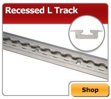 L Track Tie Down - Airline Track Cargo Tie Down Rails & L Track Straps