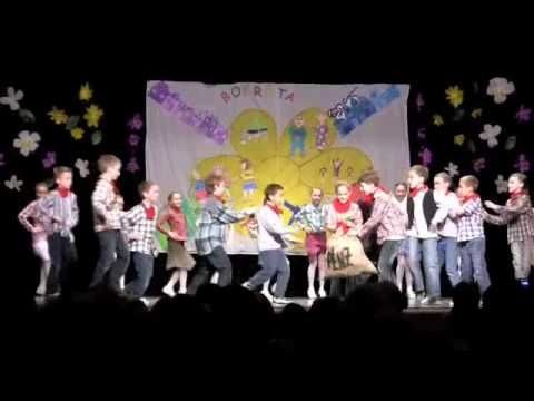 ▶USA: cowboy tanc bokréta - YouTube