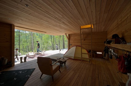 Mountain Research, a log cabin/weekend house