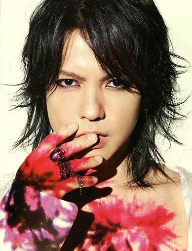 HYDE (L'Arc~en~Ciel) in WHAT's IN? (Japan music magazine) 2012. J-rock.