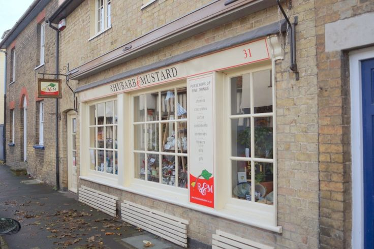 Rhubarb and Mustard coffee shop and deli in Ashwell High Street.  Stay lin lovely Ashwell at http://alderbarnholidayhome.com/