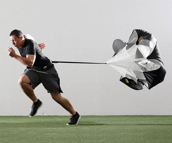 Resistance Parachute Adjustable Sports Training Equip For Fitness Running Speed