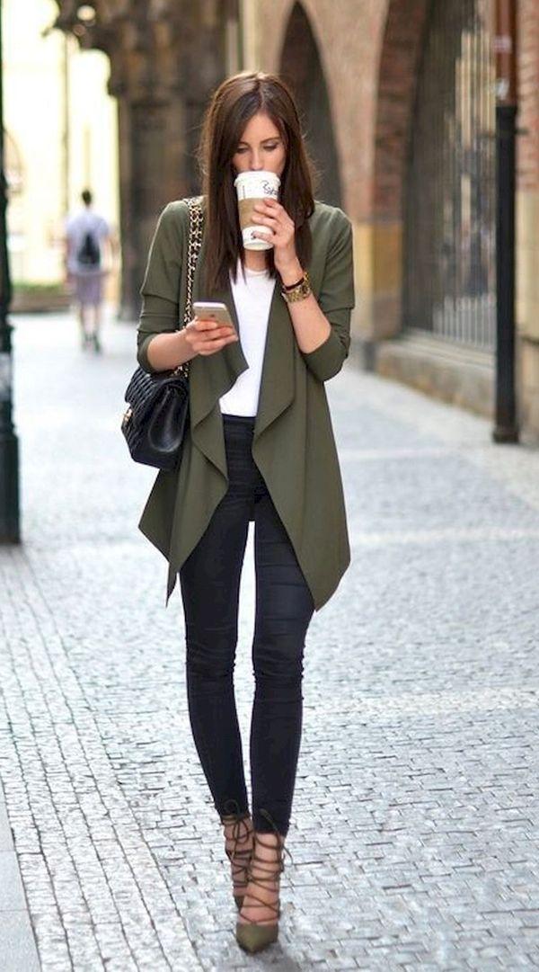 45 Herbst Work Outfits für Frauen