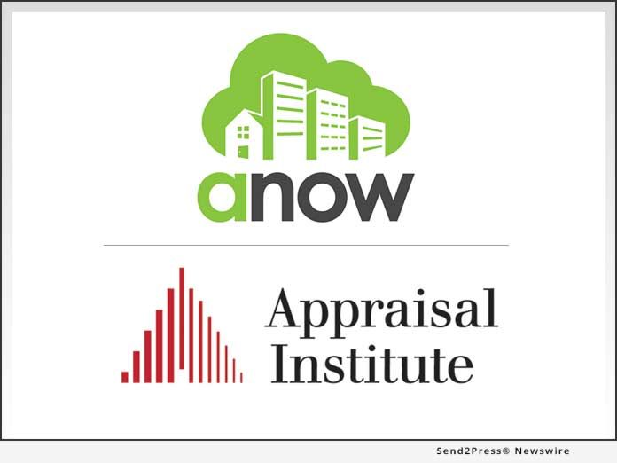 Appraisal Institute (AI) forms affinity partnership with Anow to equip members with top-shelf appraisal office management technology