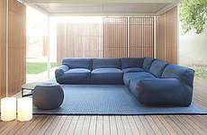 Paola Lenti - sectional, pool house