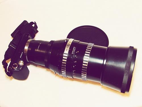 Tags: Chernivtsi, Ukraine, 2012, lens, tool, photographer, Sony DSC-H5, photography, Sonnar 180mm F2.8 Carl Zeiss Jena, bayonet, M42, E-mount, adapter, Sony NEX E-mount