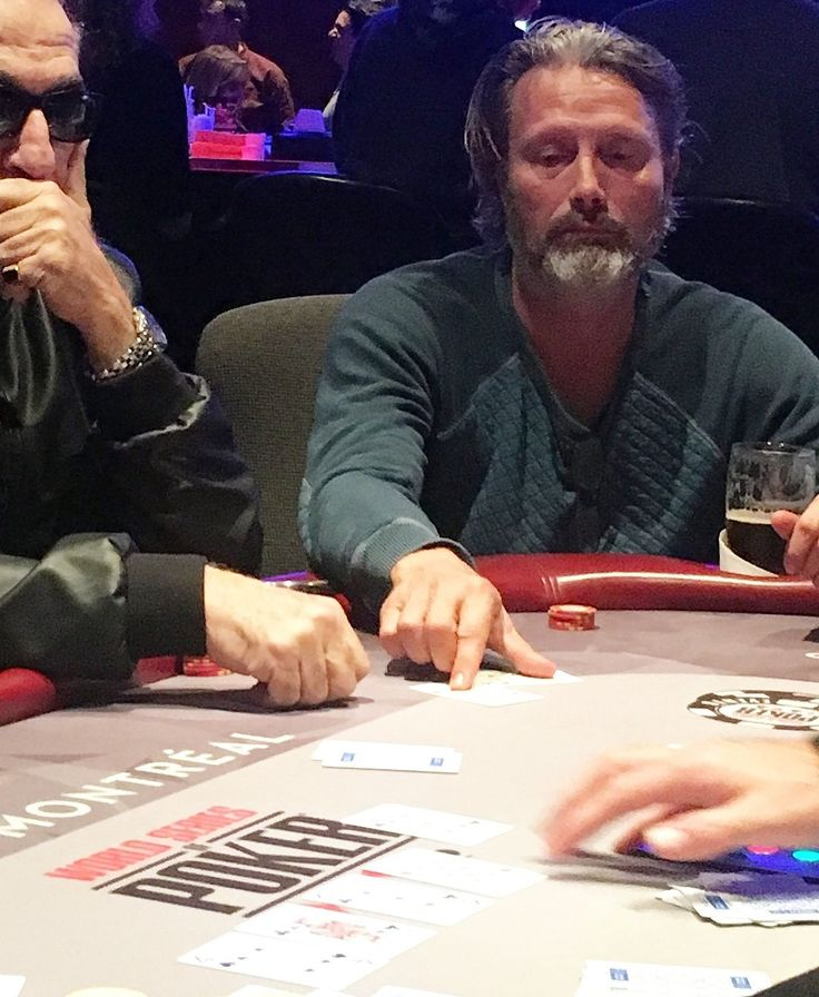 Mads at Poker Party in Montreal, 21.10.17