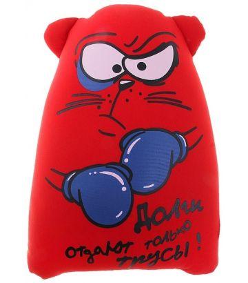 """Антистрессовый кот """"Долги отдают только трусы!"""""""