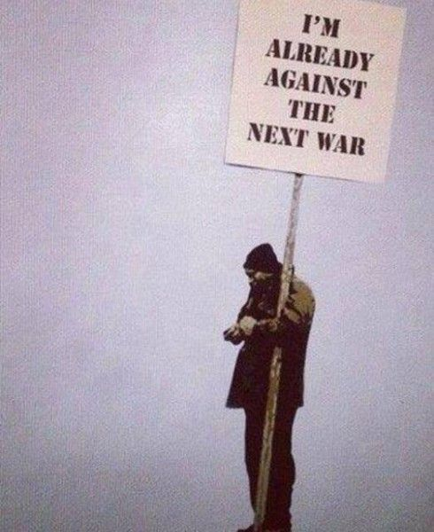 """""""I'm already against the next war' – Willy Iffland"""