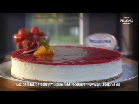 Tarta de queso Philadelphia - YouTube